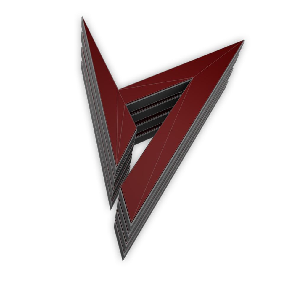 Portfolio 3D Logo Design für Projektseite Aaronroth Aaron Roth