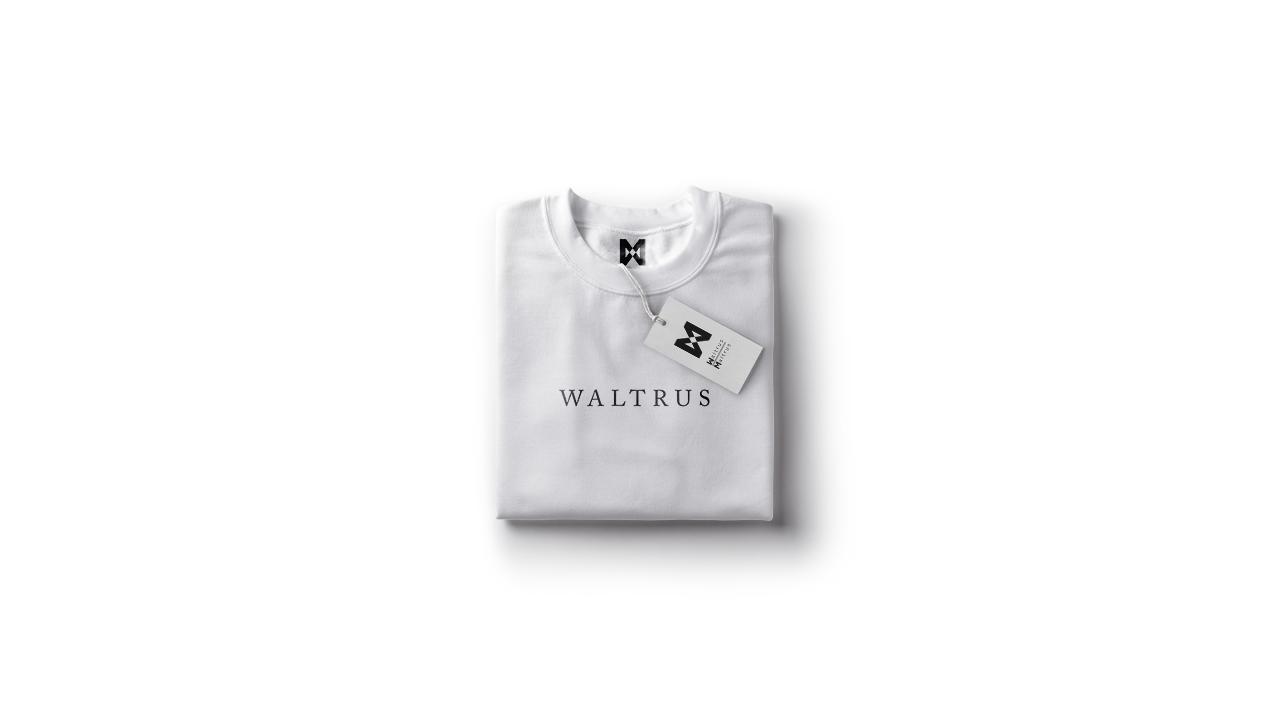 Waltrus Tshirt logo Design by aaron roth